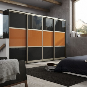 GLASS SLIDING BEDROOM